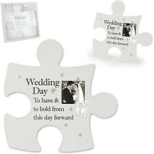 Said with Sentiment 7517 Jigsaw Wall Art Wedding Frame