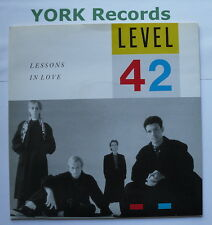 "LEVEL 42 - Lessons In Love - Excellent Condition 7"" Single Polydor POSP 790"