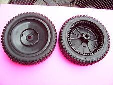 (2)- Craftsman & Husqvarna self propelled black drive wheels 9585472 / 150340 :