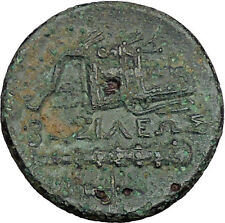 Alexander III the Great 336BC ΒΑΣΙΛΕΩΣ RARE Greek Coin Hercules Bow Club i33494