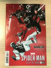 SPIDER-MAN CITY AT WAR # 1 - 1:25 Tsang Variant - Hopeless - Gamerverse - Marvel