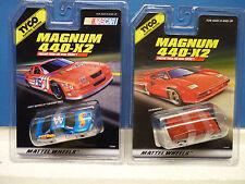 TYCO MAGNUM 440-X2 SLOT CARS 1/EA 33584, 1/EA 33895 HUMMER, HOT WHEELS G-PRIX