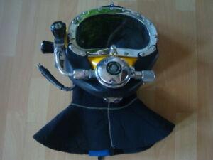 Kirby Morgan Bandmask KMB18 Superflo 350 Regulator Full Face Diving Mask Helmet