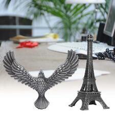 Eiffel Tower with Balance Bird Model Metal World Famous Landmark Building Decors