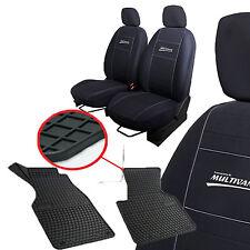 Sitzbezüge 7 sitz  und Gummimatten 2 teilg  für VW T4 MULTIVAN : Komplett