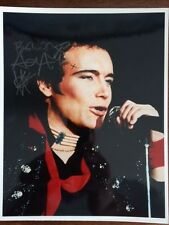 Adam Ant Hand Signed 8x10 Photo+Coa Great 80's Rocker Goody Two Shoes
