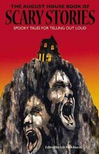 The August House Book of Scary Stories: Spooky Tales for Telling Out-ExLibrary