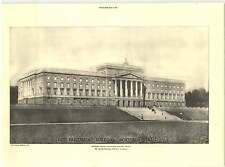1927 New Parliament Building, Northern Ireland, Arnold Thorneley Architect