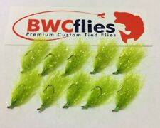 BWC Flies 10 x Size 8 BRIGHT Weed fly for Blackfish and Luderick
