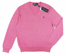 Ralph Lauren Cotton Patternless Jumpers for Men