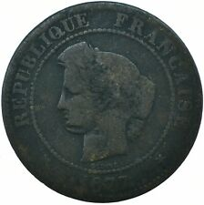 COIN / FRANCE / 5 CENTIMES 1877   #WT19548