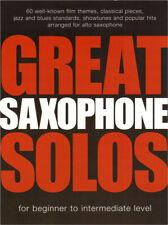 Great Solos 60 Film Pop Songs Jazz Blue Klassik Noten Alto Saxophone Alt-Saxofon