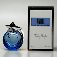 Mugler ANGEL Eau de Toilette 0.1 Oz 3 ml Mini Perfume Miniature New in Box