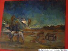 Collages quadro olio Dachau dachauer pittore Simon Hohenegger dipinto