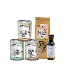 naftie Bio Schnupperbox Vegan - Hundefutter Mix-Paket
