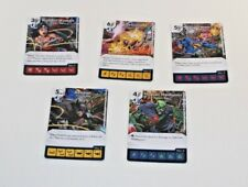 DC Dice Masters Justice League Trinity War SET * LOT of 5 OP PROMO Prize Cards