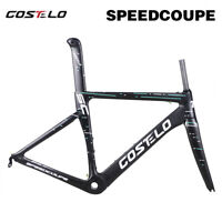 Costelo Speedcoupe Carbon Road Bike Frameset Fork Seatpost Clamp Bicycle Frame