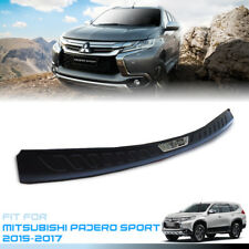 REAR BUMPER PROTECTOR GUARD MATTE BLACK FOR MITSUBISHI PAJERO SPORT 2015 16 17