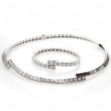 CARTIER Paris Nouvelle Vague Diamond White Gold Necklace & Bracelet