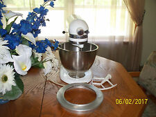 KITCHEN AID HOBART MIXERWITH POURING SHIELD-GREAT