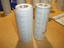 New Chart Recorder Paper Roll #124, Lot of 2 Rolls *Free Shipping*