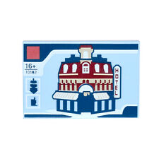 New Lego - Tiles - Decorated - 10182 and Hotel Assembly Square 2x3 Tile 10255