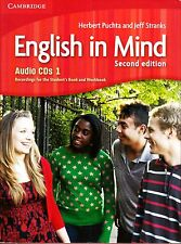 Cambridge ENGLISH IN MIND Level 1 Class Audio CD's SECOND EDITION @BRAND NEW@