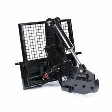 Titan Attachments 12 Rotating Tree Shear Attachment 5 Cylinder Skid Steer