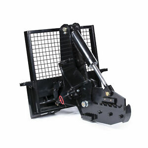 """Titan Attachments 12"""" Rotating Tree Shear Attachment 5"""" Cylinder Skid Steer"""