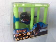 Vintage Digimon Whamon Mini Figure in Cage - NEW