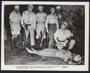 Eyes Of The Jungle '53 JON HALL VICTOR MILLAN TROPICAL PITH HELMET