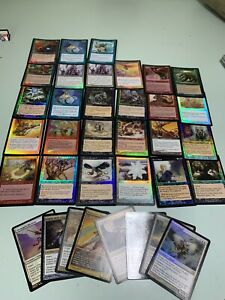 Magic The Gathering  Old Foil Lot + Angels - Lotto Nm Vintage Old