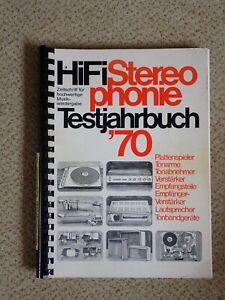 HiFi Stereophonie Test Jahrbuch 1970