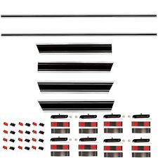 69-72 Chevy Pickup Truck LONG Bed Molding Set Front+Rear+Upper+Lower+Right+Left