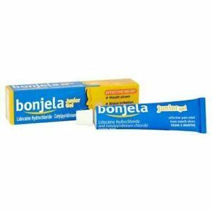 1x Bonjela 15g Mouth Ulcer Treatment Junior Gel 5 Months + Effective Relief
