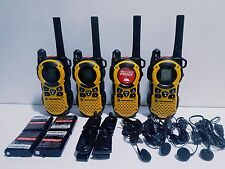 4-Motorola-MT350R-FRS-GMRS-2-WAY-Radio Weather VOX Vibral call