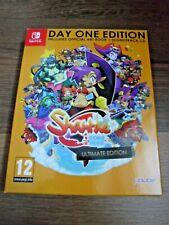 Shantae Half-Genie Hero Ultimate Day One Edition box ONLY Nintendo Switch