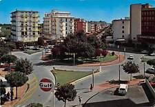 Italy Lido di Jesolo, Nember Square and Verdi Street Piazza Gulf Sign Auto Cars