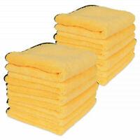 12 X Premium Quality Microfiber Polishing Towel  Scratch-Free Polishes & Car wax