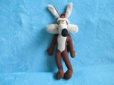 """Ace 1995 Looney Tunes - Wile E Coyote Soft Plush Stuffed Toy 12"""" Warner Bros"""