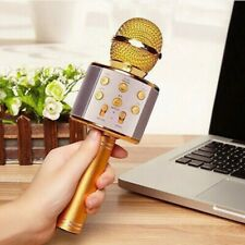 Wireless Speaker KTV Car Portable Karaoke Stereo USB Player Bluetooth Microphone