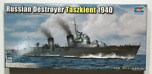 Trumpeter 05356 1/350 Tashkent Soviet WW2 Destroyer in 1940