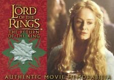 Lord of the Rings Return of King Eowyn's Golden Hall Party Dress Costume Card