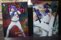 2020 Topps Finest-Lot (2) GAVIN LUX-Dodgers-The Man & Base Rookie Card!!