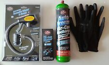 Air Con Conditioning Top Up New Improved Trigger gloves & STP Air-Con Cleaner