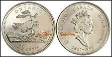 CANADA 1992 CANADIAN QUARTER ONTARIO PROVINCE RARE 25 CENT SEALED COIN