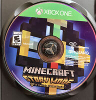 Xbox One Minecraft Story Mode Complete Adventure Disc Only