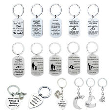 Personalised Gifts For Her Him Mum Auntie Sister Brother Dad Son Keyring Present