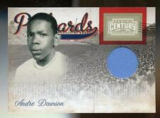 2010 Century Collection ANDRE DAWSON JERSEY POSTCARDS #88/100