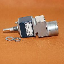 1PCS Japan ALPS RK27 10K Dual-channel Motorized Volume Potentiometer SemiCircle